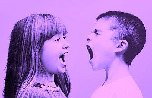 relationship conflict, arguing, anger